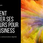 COMMENT TROUVER SES COULEURS POUR SON BUSINESS - DARLOW PARIS