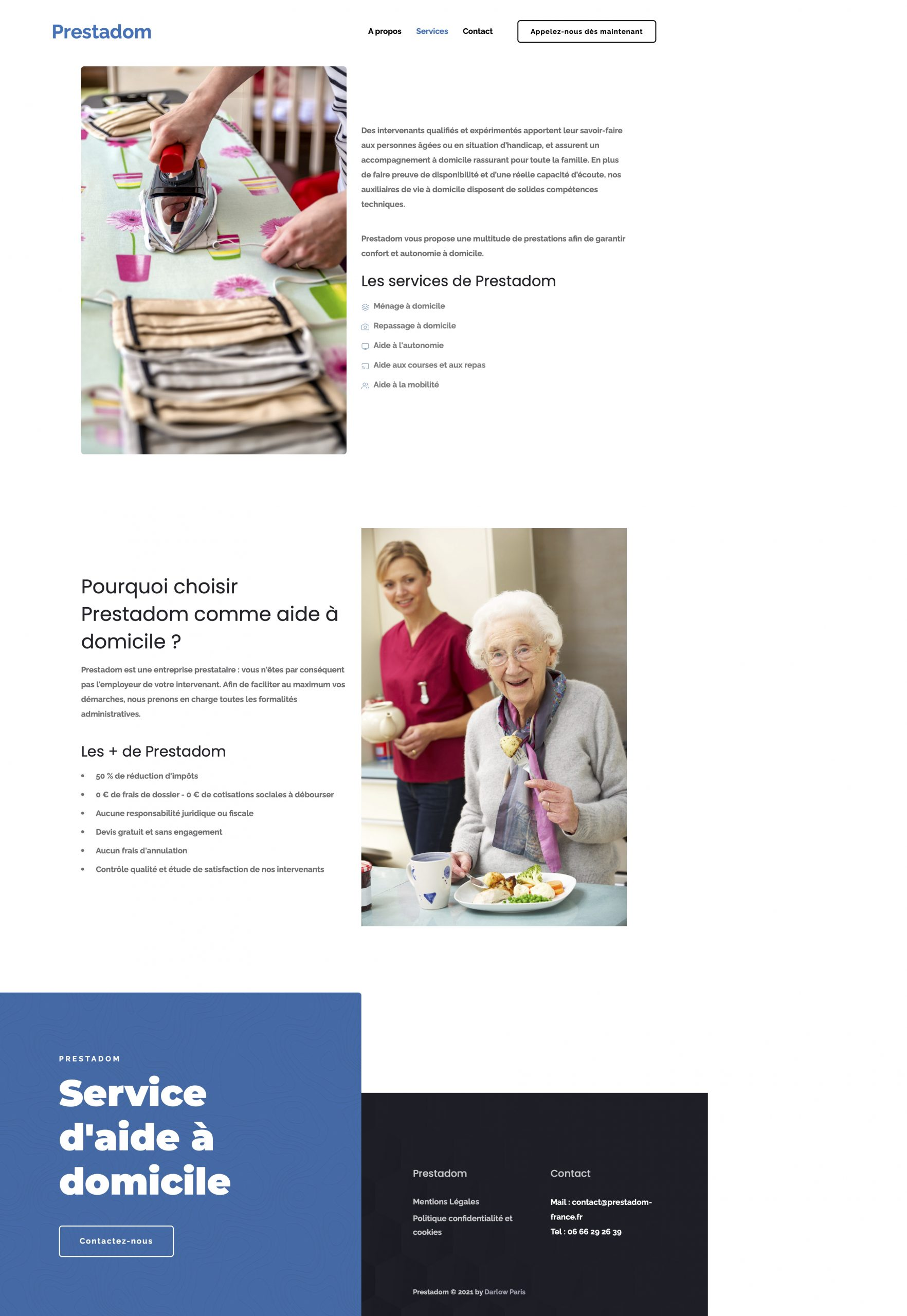 Services – Prestadom - Darlow Paris