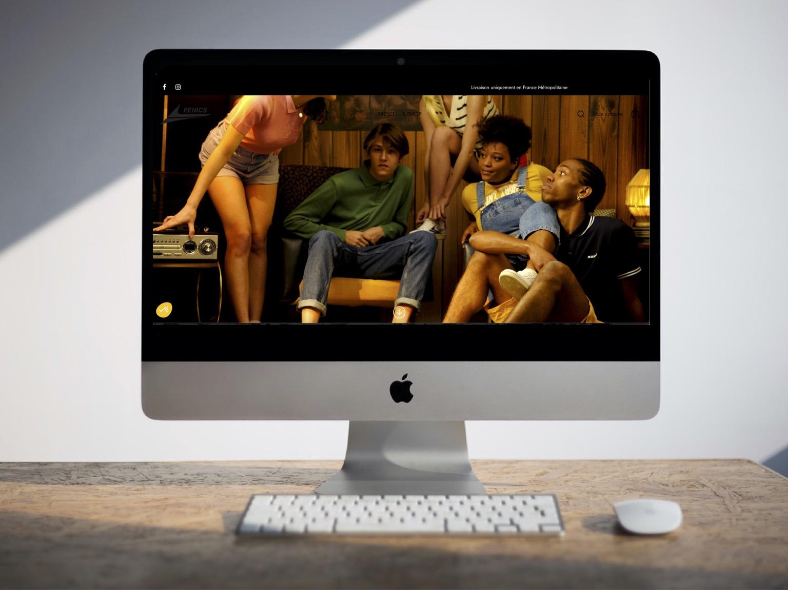 Fenics Shoes par Agence Darlow Paris I Agence site web & communication digitale I Paris / NYC / Dubaï