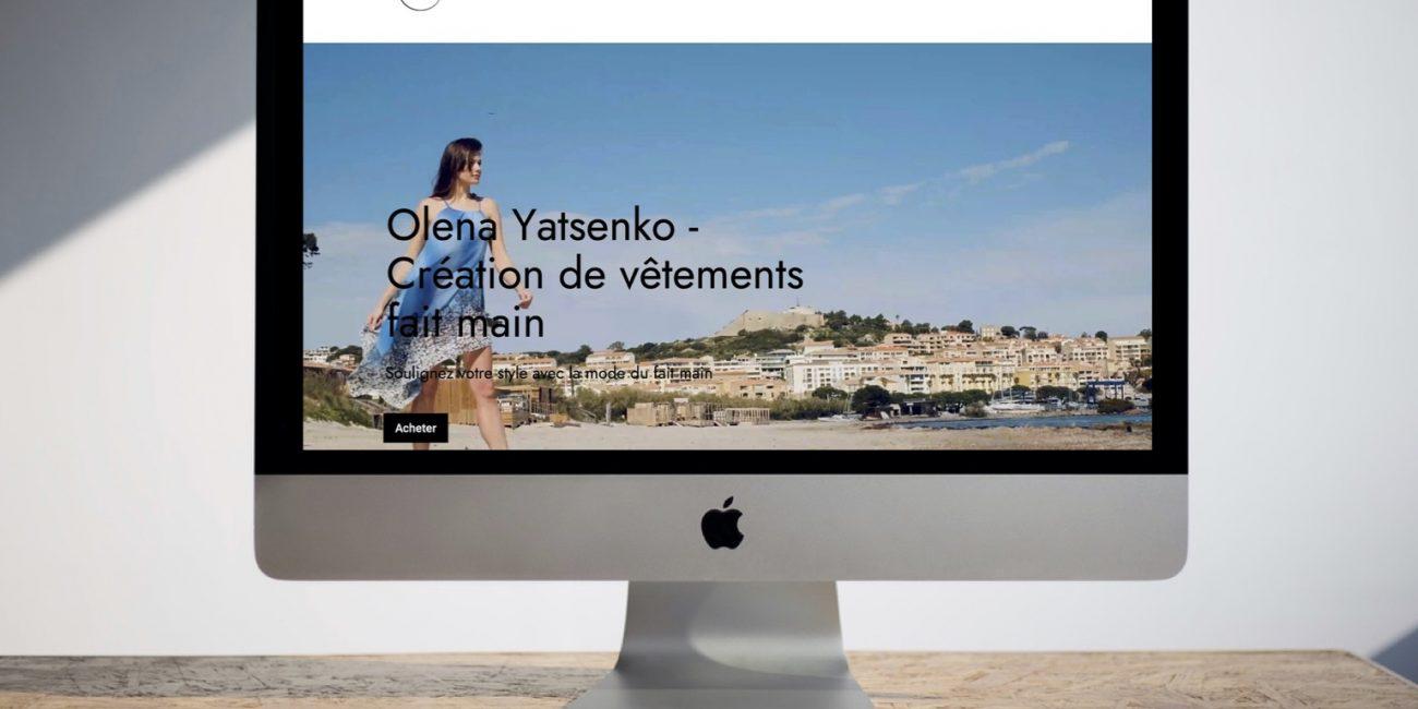 Olena Yatsenko par Agence Darlow Paris I Agence site web & communication digitale I Paris / NYC / Dubaï